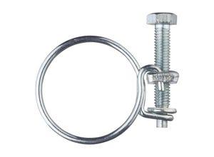 Collier double fils acier Ø35 à 40 (x2)