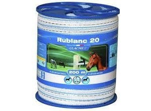 RUBLANC 20 mm - bobine de 200 m LACME