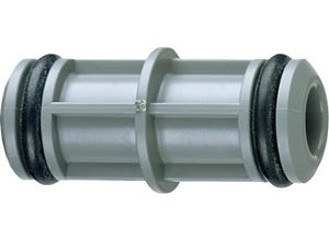 Manchon pour tuyau PVC 25 mm avec joint (x10)