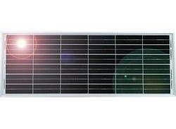 Module solaire 40 W avec double support universel