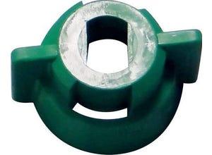 Ecrou 1/4t vert pour buse XR 10ã20AIXR/TIPS