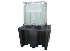 Bac de rétention PEHD 1100L 1 conteneur