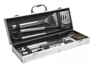 Valisette barbecue 8 accessoires