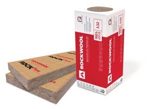 Panneau laine roche Rockplus Premium kraft 101mm (1350x600)