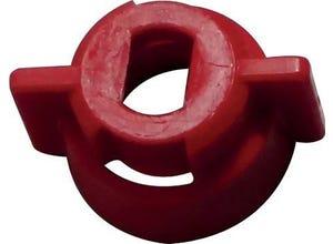 Ecrou 1/4t rouge pour buse XR 10ã20AIXR/TIPS