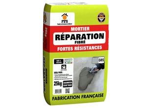 Mortier  réparation fibré forte résistance