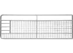 Porte de prairie grillagée 6,0 m galv