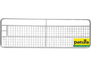 Porte de prairie grillagée 3,0 m galv PATURA