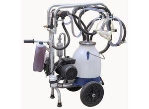 Chariot de traite mobile ovin/caprin