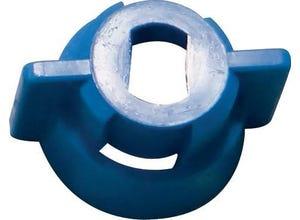 Ecrou 1/4t bleu pour buse XR 10ã20AIXR/TIPS