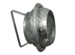 Bouchon à sphère ø 120 mm + collerette