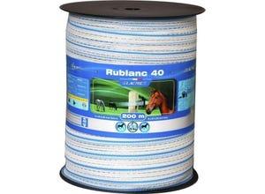 Ruban RUBLANC 40 mm bobine de 200 m LACME