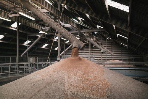 stocker céréales